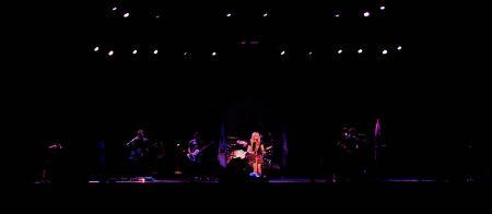 Avril Lavigne bei ihrem Auftritt am Gurtenfestival