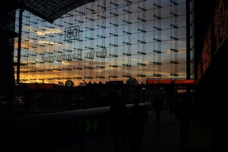 Willkommen in Berlin Hauptbahnhof