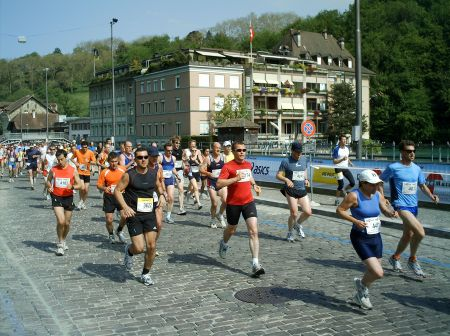 Läufer am Grand-Prix von Bern