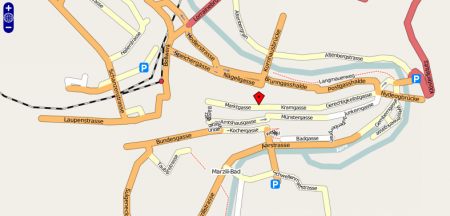 Screenshot Openstreetmap vom 17. Juni 07