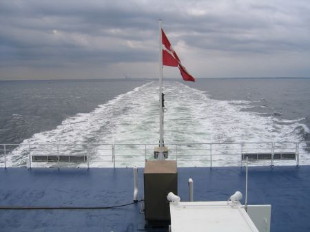 Per Fähre nach Dänemark