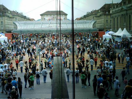 Das Berner Bahnhofsplatzfest
