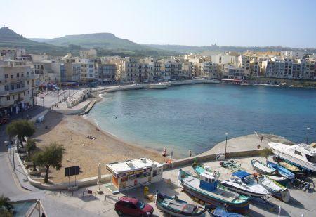 Meer in Marsalfon vom Hotel aus gesehen