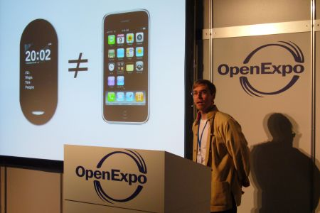 Sean Moss-Pultz at Openexpo